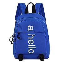 Reasoncool Children Fashion Large Capacity Shoulder Backpack School Bag Student Teenager Backpack Kid Rucksack Outdoor Sport Daypack Travel Bag (Blue)