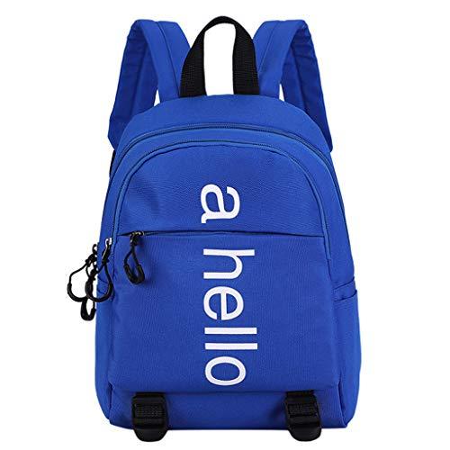 Mini Backpack Kinder Große Kapazität Leinwand Schulter Rucksack Kindergartentasche mit Anti-verlorene für Mädchen Jungen,Drucken Schultasche Rucksäcke Daypack Verschleißfest Tasche Backpack Sale