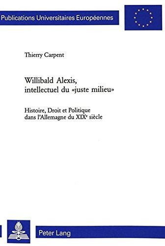 Willibald Alexis, intellectuel du par Thierry Carpent