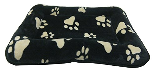Dog-Puppy-Pawprint-Cage-Bed-in-Faux-Fur-available-in-5-sizes