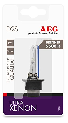 Preisvergleich Produktbild AEG Automotive 97300 Ultra Xenon Brenner D2S Intensiv-Blau 5500 K, 12 V, 35 W, 1 Stück