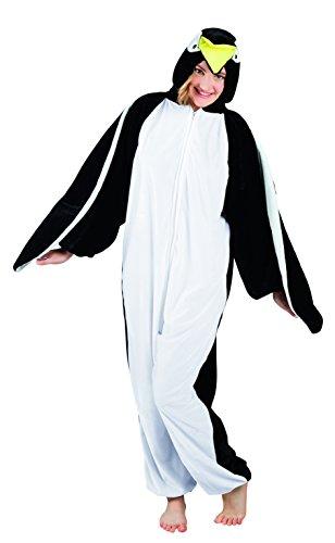 Boland 88022 Erwachsenenkostüm Pinguin aus Plüsch, 180 - Plüsch Pinguin Kostüm