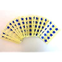 180 Labels , 15mm Stars , Royal Blue , Colour Code Stickers , Self-Adhesive Sticky Coloured Labels