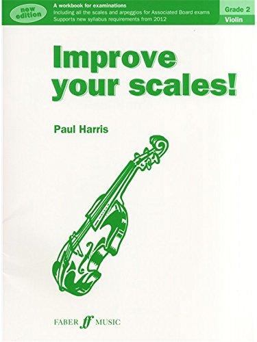 Improve Your Scales! Violin Grade 2 (2012 Edition). Partitions pour Violon