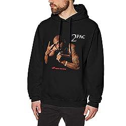 AKKUI Hooded Sweat Herren Kapuzenpullover LanceCHerbert 2PAC Tupac Shakur Hoodie Men's Casual Sweatshirt Fashion Hooded Pullover