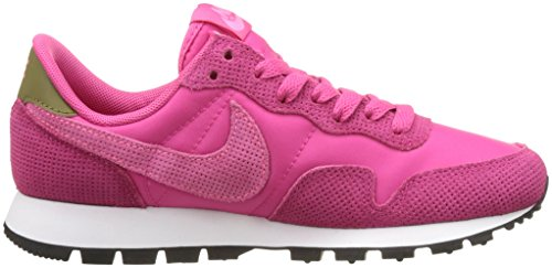Nike Air Pegasus 83, Chaussures de Running Entrainement Femme Rose (Vivid Pink/Digital Pink Olive Flak Summit White)