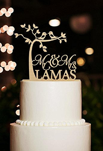 Personalised wedding cake topper amazon junglespirit Gallery