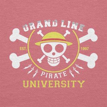 Texlab–Grand Line Pirates University–sacchetto di stoffa Pink