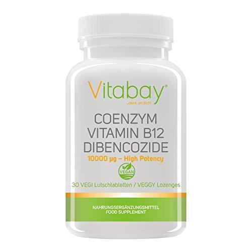 Coenzym - Vitamin B12 - Dibencozide 10.000 mcg - 30 Tabletten - hochdosiert -