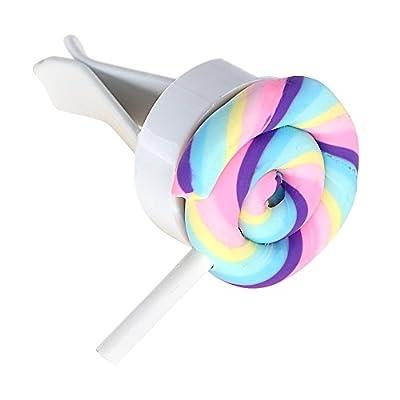 NOPNOG Désodorisant pour voiture Lollipop Ornement Pince à grille d'aération de voiture Parfum Désodorisant