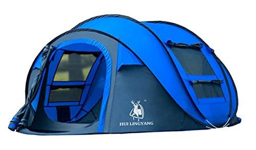 Ghlee Pop up Zelt für Camping 4 5 Personen Outdoor Automatische Set Instant Zelt Familie Werfen Pop up Zelt