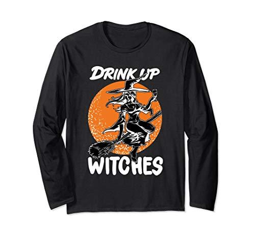 Lustige Hexen Gruppe Wein Halloween Kostüm Geschenk
