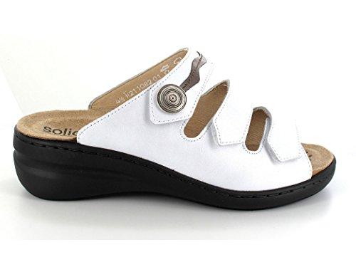 Perlato solidus koelica/perl calf Bianco (weiß/torf)
