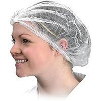 ROSENICE Gorro Desechable No tejidas elásticas - 100 Piezas