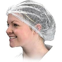 ROSENICE Gorro Desechable No tejidas elásticas - 100 Piezas f92a5c81538