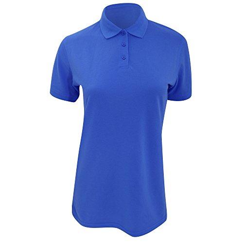 Kustom Kit Klassik Damen Kurzar Polo Shirt Graphit