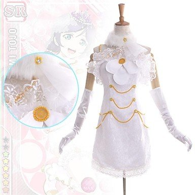Love Live Nozomi Tōjō Cosplay Kostüm, Größe L: Höhe 165cm-170cm
