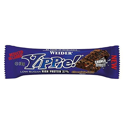 Weider Yippie! Bar 24 x 70g Riegel Chocolate Lava