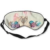 Blue Eyes Cat And Colorful Balls Sleep Eyes Masks - Comfortable Sleeping Mask Eye Cover For Travelling Night Noon... preisvergleich bei billige-tabletten.eu