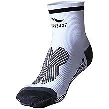 Sportlast Pro Calcetines de Compresión, Blanco/Negro, ...