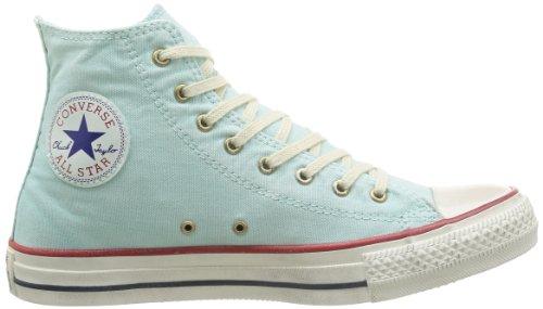 Converse  Ctas Well Worn Hi,  Damen Gymnastikschuhe Turquoise (Ecume de Mer 51)