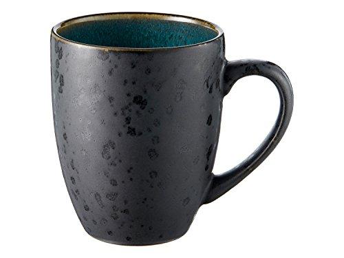 Kaffeebecher Bitz schwarz/gr?n