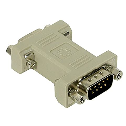 C2G DB9 Male to DB9 RS232 Female Null Modem Adapter