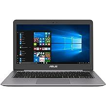 """Asus UX310UA-GL151T - Portátil de 13.3"""" FullHD (Intel Core i5-6200U, 8 GB de RAM, HDD de 1 TB, Intel HD Graphics 520, Windows 10, teclado QWERTY español ), color gris"""