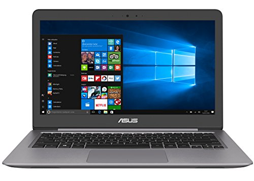 "Asus UX310UA-GL151T - Portátil de 13.3"" FullHD (Intel Core i5-6200U, 8 GB de RAM, HDD de 1 TB, Intel HD Graphics 520, Windows 10, teclado QWERTY español ), color gris"