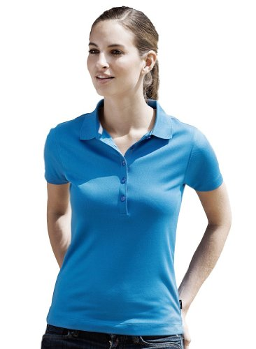 Tee Jays Ladies Sport Performance Poloshirt 7105, Größe:XL;Farbe:Black