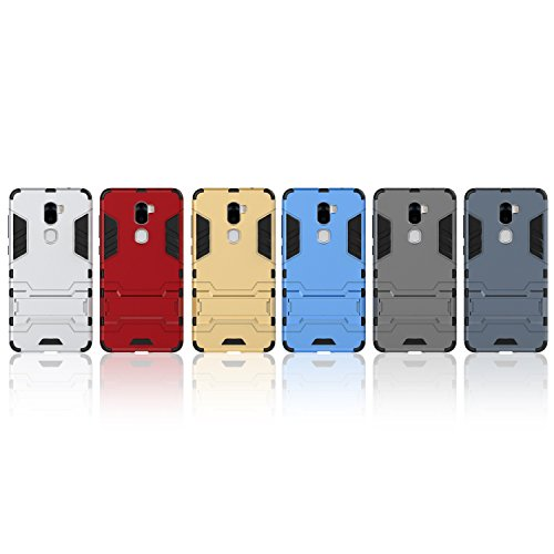 LeTV Cool 1 Cover, 2 In 1 Neue Armour Tough Style Hybrid Dual Layer Armor Defender PC Hartschalen mit Standfuß Shockproof Case Für LeTV Cool 1 ( Color : 3 , Size : LeTV Cool 1 ) 6