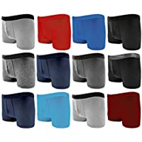 Bonjour Men's Fitted Hipsters Boxer (12pk and 6pk)