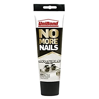 UNIBOND 1963625 No More Nails Invisible Tube-184g