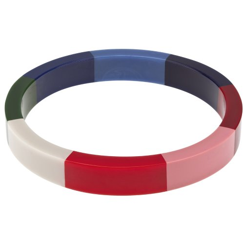 french-connection-skinny-resin-stripe-bangle