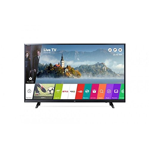 "LG 43UJ620V 43"" 4K Ultra HD Smart TV Wi-Fi Black LED TV - LED TVs (109.2 cm (43""), 3840 x 2160 pixels, LED, Smart TV, Wi-Fi, Black)"