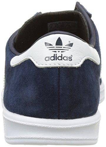 adidas Unisex-Erwachsene Hamburg Sneakers Blau (Collegiate Navy/Ftwr White/Gold Met)