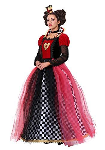 Plus Size Ravishing Queen of Hearts Fancy Dress -