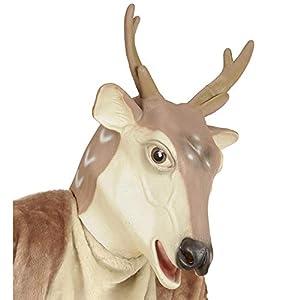 WIDMANN?Máscara reno Mens, color beige, talla única, vd-wdm96594