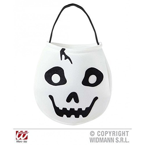 Halloweentragetasche Süßes oder Saures für Kinder Beutel als Geist
