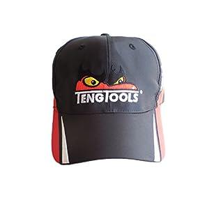 p-cap7schwarz von Teng Tools Racing Baseball Cap mit Teng Face 36510155