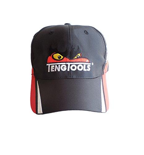 p-cap7schwarz von Teng Tools Racing Baseball Cap mit Teng Face 36510155 Baseball-cap-tool