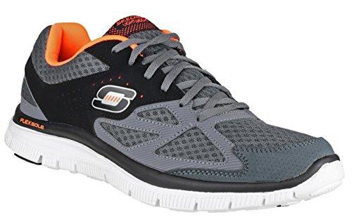 Skechers , Herren Sneaker charcoal/schwarz