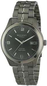 Regent Herren-Armbanduhr XL Analog Titan 11090268