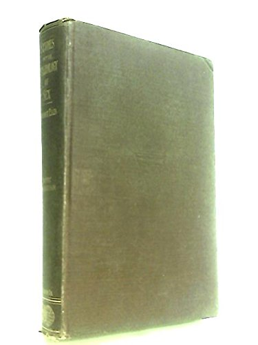 Studies in the Psychology of Sex. 1. The Evolution of Modesty; 2. Sexual Inversion; 3. Analysis of the Sexual Impulse; 4. Sexual Selection in Men; 5. Erotic Symbolism; 6. Sex in Relation to Society; 7. Eonism and other studies