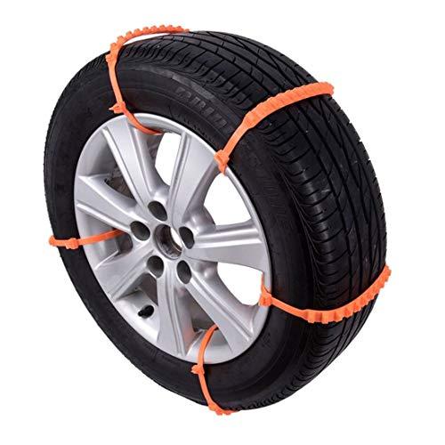 Formulaone-10PCS-Set-Universal-Anti-Slip-Design-Auto-SUV-Plastica-Pneumatici-Invernali-Ruote-Catene-da-Neve-Catene-da-Neve-Auto-Styling-durevoli-Arancione