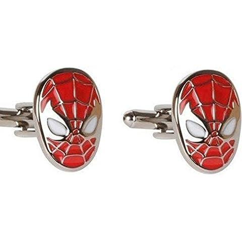 Gemelli a forma di maschera di Spiderman