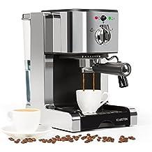 Klarstein Passionata 15 Máquina de café espresso • Cappuccino • Capacidad para 6 tazas • Depósito