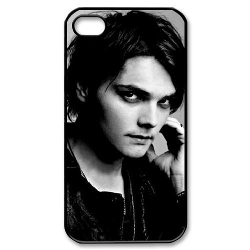 Gerard Way My Chemical Romance iPhone 4/4s Case Back Case for iphone 4/4s