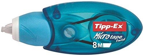 = Bic Tipp-Ex Micro Tape Twist correttore a nastro con punta girevole proteggi nastro confezione da 3 correttori prezzo