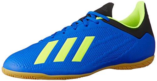 adidas Unisex-Erwachsene X Tango 18.4 Indoor Fußballschuhe, Mehrfarbig (Indigo 001), 44 2/3 EU